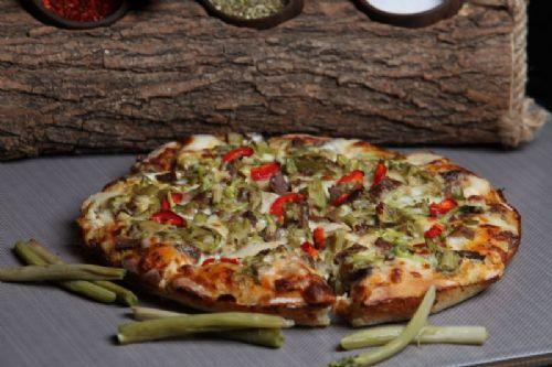 Siyabolu Kavurmalı Pizza